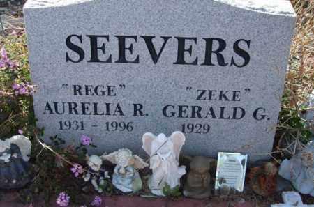 "SEEVERS, AURELIA R. ""REGE"" - Pinal County, Arizona   AURELIA R. ""REGE"" SEEVERS - Arizona Gravestone Photos"