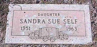 SELF, SANDRA SUE - Pinal County, Arizona   SANDRA SUE SELF - Arizona Gravestone Photos