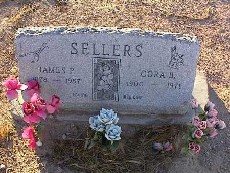 SELLERS, CORA B. - Pinal County, Arizona | CORA B. SELLERS - Arizona Gravestone Photos