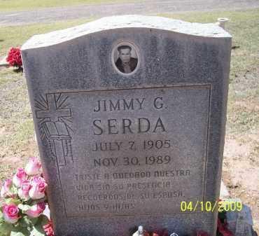 SERDA, JIMMY G. - Pinal County, Arizona   JIMMY G. SERDA - Arizona Gravestone Photos