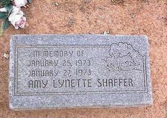 SHAFFER, AMY LYNETTE - Pinal County, Arizona | AMY LYNETTE SHAFFER - Arizona Gravestone Photos