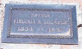 SHEARER, VIRGINIA A. - Pinal County, Arizona | VIRGINIA A. SHEARER - Arizona Gravestone Photos