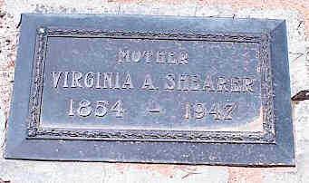 SHEARER, VIRGINIA A. - Pinal County, Arizona   VIRGINIA A. SHEARER - Arizona Gravestone Photos