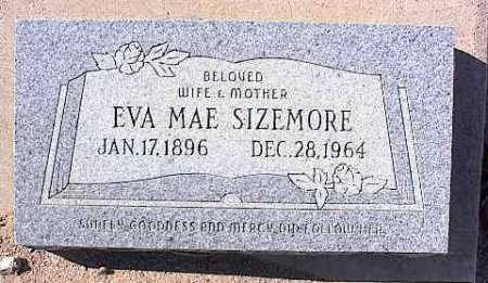 SIZEMORE, EVA MAE - Pinal County, Arizona   EVA MAE SIZEMORE - Arizona Gravestone Photos