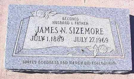 SIZEMORE, JAMES N. - Pinal County, Arizona | JAMES N. SIZEMORE - Arizona Gravestone Photos