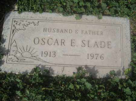 SLADE, OSCAR E. - Pinal County, Arizona | OSCAR E. SLADE - Arizona Gravestone Photos