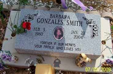 GONZALES SMITH, BARBARA - Pinal County, Arizona | BARBARA GONZALES SMITH - Arizona Gravestone Photos