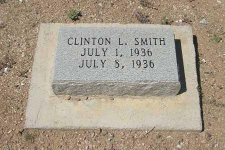 SMITH, CLINTON   LOVERNE - Pinal County, Arizona   CLINTON   LOVERNE SMITH - Arizona Gravestone Photos