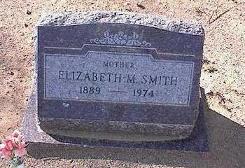 SMITH, ELIZABETH M. - Pinal County, Arizona | ELIZABETH M. SMITH - Arizona Gravestone Photos