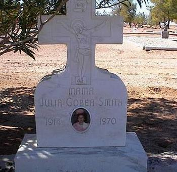 SMITH, JULIA GOBEA - Pinal County, Arizona | JULIA GOBEA SMITH - Arizona Gravestone Photos