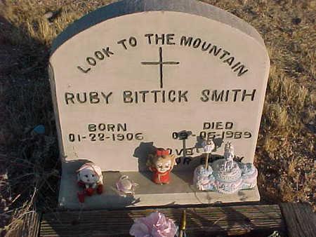 BITTICK SMITH, ELMA RUBY - Pinal County, Arizona   ELMA RUBY BITTICK SMITH - Arizona Gravestone Photos