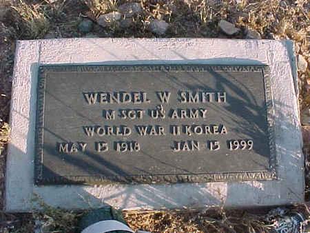 SMITH, WENDEL W. - Pinal County, Arizona | WENDEL W. SMITH - Arizona Gravestone Photos