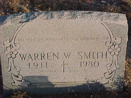 SMITH, WARREN  W. - Pinal County, Arizona | WARREN  W. SMITH - Arizona Gravestone Photos