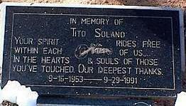 SOLANO, TITO - Pinal County, Arizona | TITO SOLANO - Arizona Gravestone Photos
