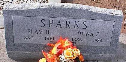 SPARKS, DONA F. - Pinal County, Arizona | DONA F. SPARKS - Arizona Gravestone Photos