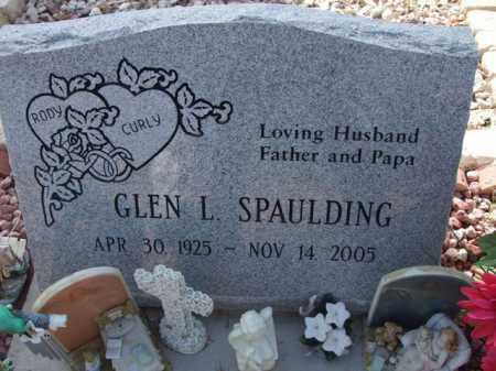 SPAULDING, GLEN L. - Pinal County, Arizona | GLEN L. SPAULDING - Arizona Gravestone Photos