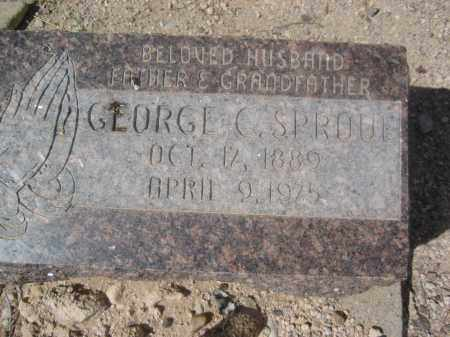 SPROUL, GEORGE C. - Pinal County, Arizona | GEORGE C. SPROUL - Arizona Gravestone Photos