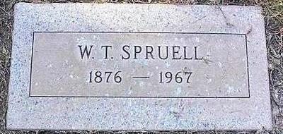 SPRUELL, W.T. - Pinal County, Arizona | W.T. SPRUELL - Arizona Gravestone Photos