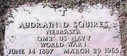 SQUIRES, AUDRAIN D. - Pinal County, Arizona   AUDRAIN D. SQUIRES - Arizona Gravestone Photos