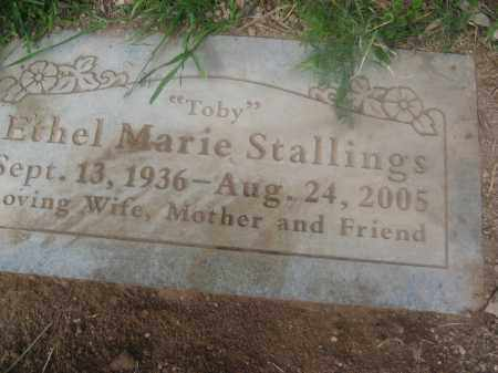 STALLINGS, ETHEL MARIE - Pinal County, Arizona | ETHEL MARIE STALLINGS - Arizona Gravestone Photos