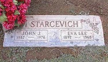 STARCEVICH, JOHN J. - Pinal County, Arizona | JOHN J. STARCEVICH - Arizona Gravestone Photos