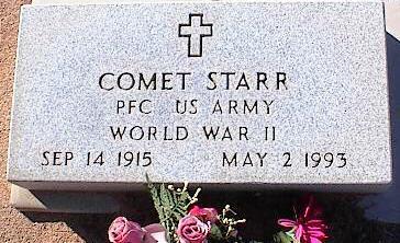 STARR, COMET - Pinal County, Arizona | COMET STARR - Arizona Gravestone Photos