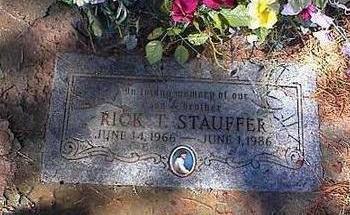 STAUFFER, RICK T. - Pinal County, Arizona | RICK T. STAUFFER - Arizona Gravestone Photos