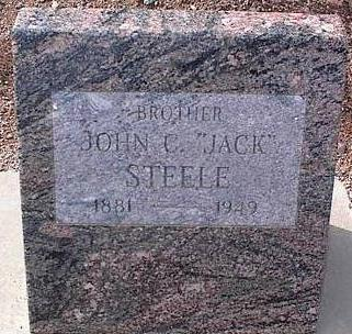 STEELE, JOHN C. [JACK] - Pinal County, Arizona | JOHN C. [JACK] STEELE - Arizona Gravestone Photos