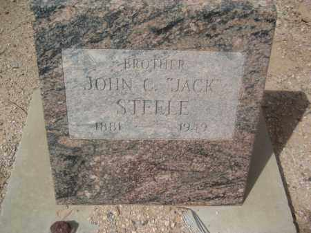 STEELE, JOHN C. - Pinal County, Arizona   JOHN C. STEELE - Arizona Gravestone Photos