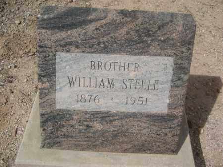 STEELE, WILLIAM - Pinal County, Arizona | WILLIAM STEELE - Arizona Gravestone Photos