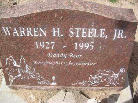 STEELE, WARREN H. - Pinal County, Arizona   WARREN H. STEELE - Arizona Gravestone Photos