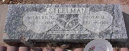 STEELMAN, DORA M. - Pinal County, Arizona | DORA M. STEELMAN - Arizona Gravestone Photos