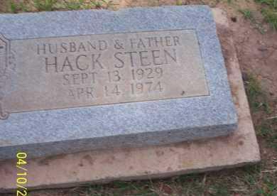 STEEN, HACK - Pinal County, Arizona | HACK STEEN - Arizona Gravestone Photos
