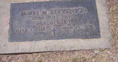 STEVENSON, JAMES M. - Pinal County, Arizona | JAMES M. STEVENSON - Arizona Gravestone Photos