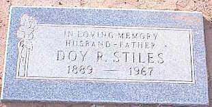 STILES, DOY R. - Pinal County, Arizona | DOY R. STILES - Arizona Gravestone Photos