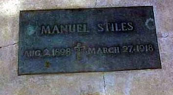 STILES, MANUEL - Pinal County, Arizona | MANUEL STILES - Arizona Gravestone Photos