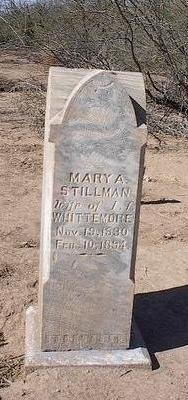 STILLMAN, MARY A. - Pinal County, Arizona | MARY A. STILLMAN - Arizona Gravestone Photos