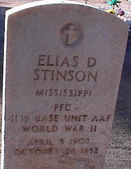STINSON, ELIAS D. - Pinal County, Arizona   ELIAS D. STINSON - Arizona Gravestone Photos