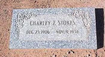 STOKES, CHARLEY F. - Pinal County, Arizona | CHARLEY F. STOKES - Arizona Gravestone Photos