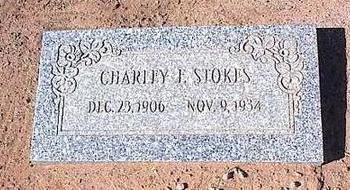 STOKES, CHARLEY F. - Pinal County, Arizona | CHARLEY F. STOKES - Arizona Gravestone Photos