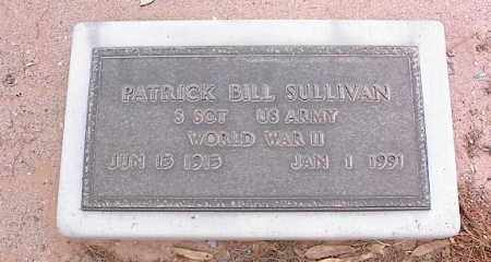 SULLIVAN, PATRICK BILL - Pinal County, Arizona | PATRICK BILL SULLIVAN - Arizona Gravestone Photos