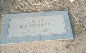 SUMMERS, H.B., JUDGE - Pinal County, Arizona | H.B., JUDGE SUMMERS - Arizona Gravestone Photos