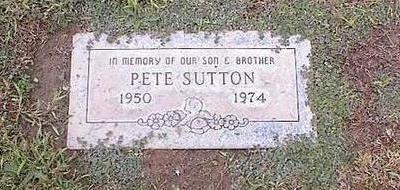 SUTTON, PETE - Pinal County, Arizona | PETE SUTTON - Arizona Gravestone Photos