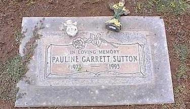 SUTTON, PAULINE - Pinal County, Arizona   PAULINE SUTTON - Arizona Gravestone Photos