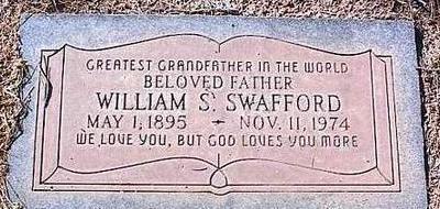 SWAFFORD, WILLIAM S. - Pinal County, Arizona   WILLIAM S. SWAFFORD - Arizona Gravestone Photos