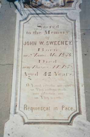 SWEENEY, JOHN W. [WILLIAM] - Pinal County, Arizona | JOHN W. [WILLIAM] SWEENEY - Arizona Gravestone Photos