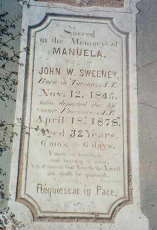 RAMEREZ SWEENEY, MANUELA - Pinal County, Arizona | MANUELA RAMEREZ SWEENEY - Arizona Gravestone Photos