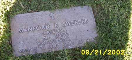 SWEEPER, MANFORD - Pinal County, Arizona | MANFORD SWEEPER - Arizona Gravestone Photos