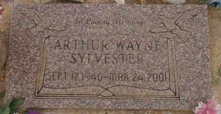 SYLVESTER, ARTHUR WAYNE - Pinal County, Arizona | ARTHUR WAYNE SYLVESTER - Arizona Gravestone Photos