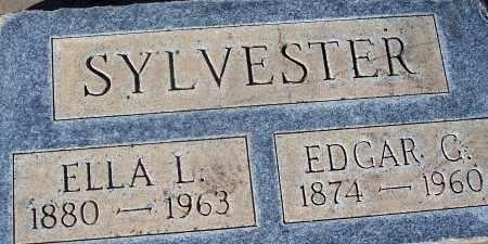 SYLVESTER, EDGAR GIFFORD - Pinal County, Arizona | EDGAR GIFFORD SYLVESTER - Arizona Gravestone Photos